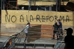 argentinos protestam