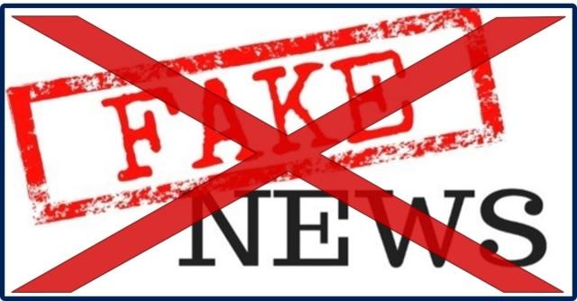 não às fake news