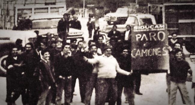 caminhoneiros do chile