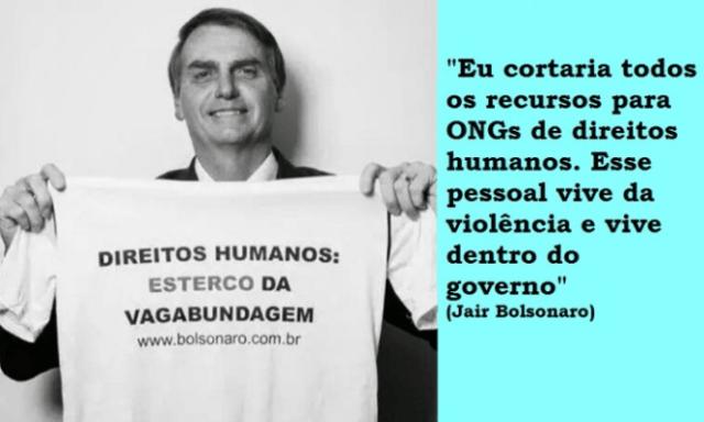 bolsonaro direitos humanos