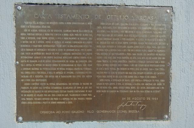 CARTA DE GETÚLIO VARGAS
