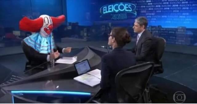 entrevista do bolsonaro na globo