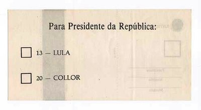 eleição 1989 segundo turno