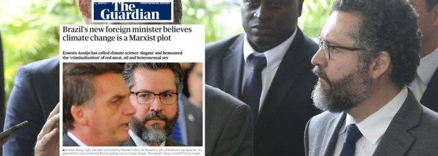 embaixador e a trama marxista