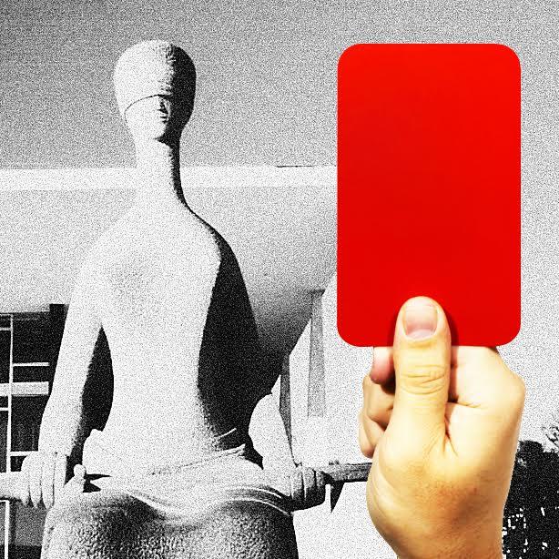 cartão vermelho para o stf