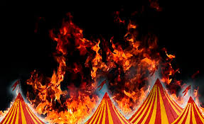 circo pegou fogo