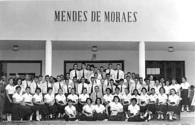 mendes de moraes formatura curso científico 1957