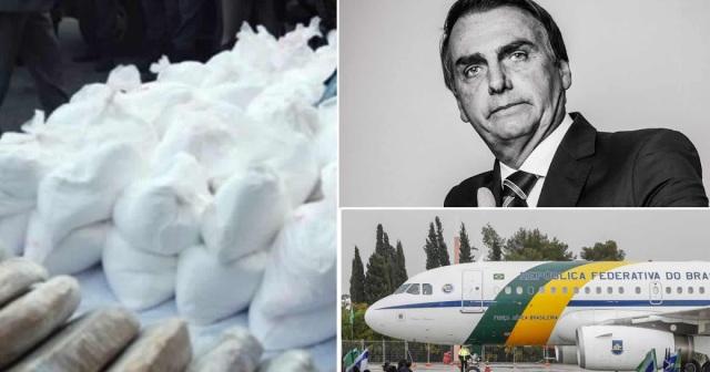 avião presidencial com cocaína