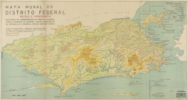mapa distrito Federal